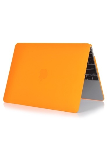 "Mcstorey MacBook Air A1369/A1466 13"" 13.3"" Kılıf Kapak Koruyucu Ruberized  Hard Incase Mat Oranj"